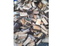 Fire wood logs kindling delivered