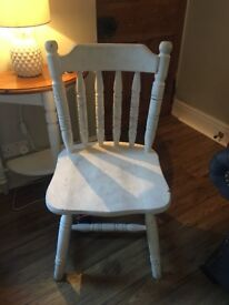 Painted Pine Chair £10