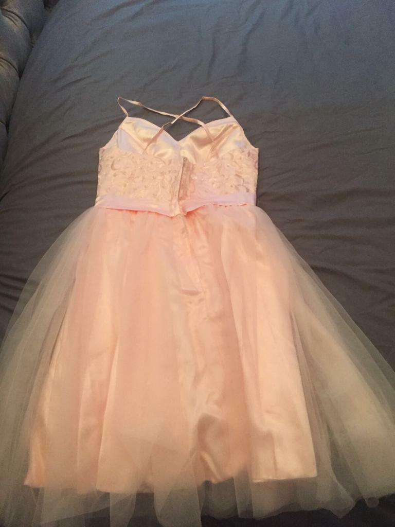 Pink bridesmaid/prom dress now reduced!!
