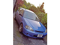 Civic 96-00 Breaking Parts EJ9 EK4 EK9 Exhaust Skirts Splash Guard Harness Manual Windows Doors Cap