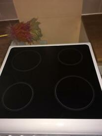 Ceramic hob cooker