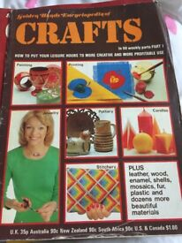 Golden Hands Encyclopedia of Crafts magazines