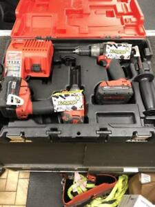 PLUSIEURS OUTIL A VENDRE MILWAUKEE ( KIT DE DRILL BRUSHLESS FUEL  159.95$ )