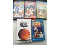5 Disney videos all in good condition.. VHS.. play well... FREE TO COLLECT... from Chapeltown S 35