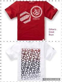 Set Of 2 Crosshatch T-shirts