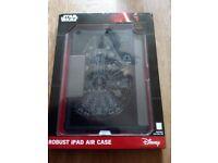 Star Wars iPad Air Case (Robust) with Millennium Falcon design.