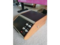 Vintage Retro Portable ITT KB Record Player