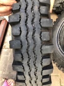 Avon Traction Mileage 6.00-16 tyres x 2 Destone 6.00-16 tyres x 2 (4 in total)