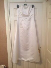 For sale white wedding dress