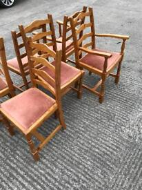 Set of kitchen chairs