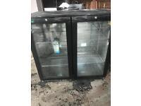 Double bar/pub fridge.