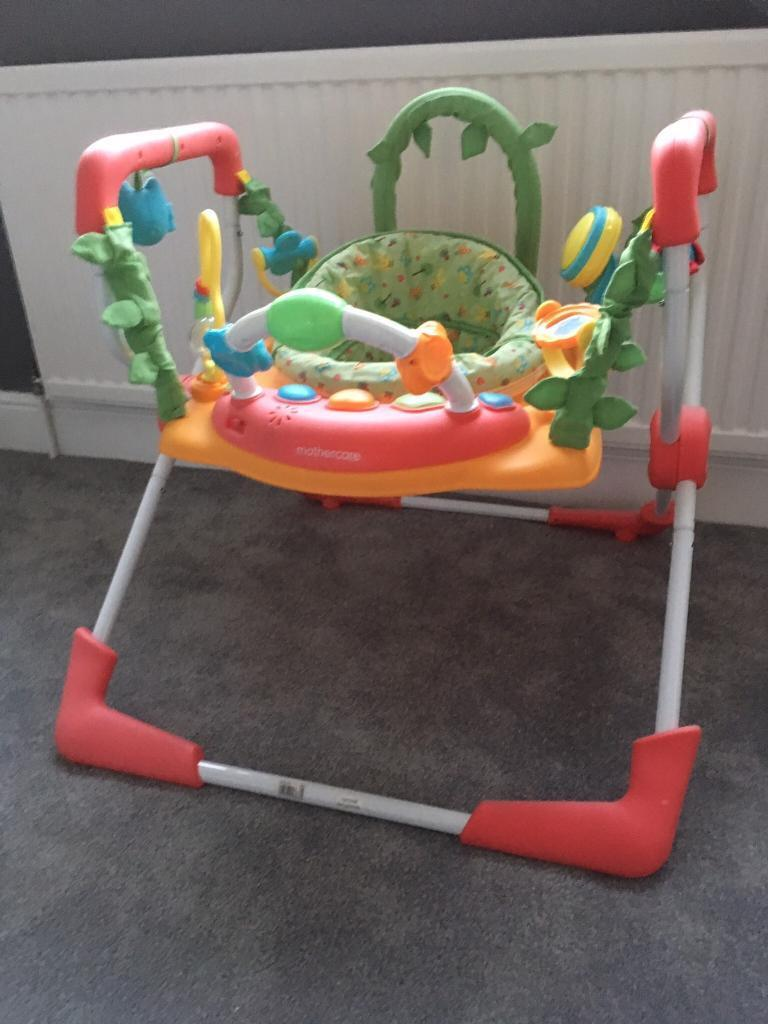 797b3e742 Mothercare woodland jumperoo and bouncer