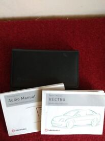 Vectra Owners Manuals