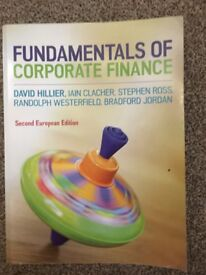 Fundamentals of Corporate Finance Textbook - 2nd Ed, D. Hillier