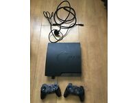 Ps 3 console and games bundle with 2x controllers