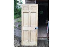 Pine cottage door - clean condition