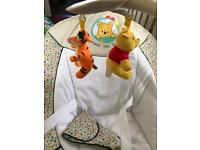Winnie the Pooh bouncy chair
