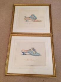 Original French Watercolours