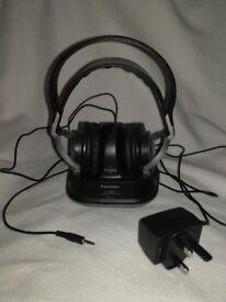 Panasonic WF950 Wireless Headphones - Silver