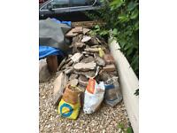 Free delivery- Rubble bricks concrete hardcore etc