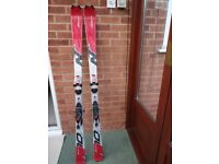 Nordica Skis with Marker Bindings