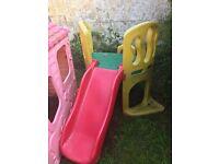 Outdoor Little Tikes Toddler Slide
