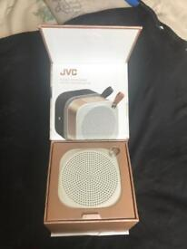 JVC portable wireless speaker