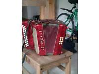 Vintage v Soprani accordion