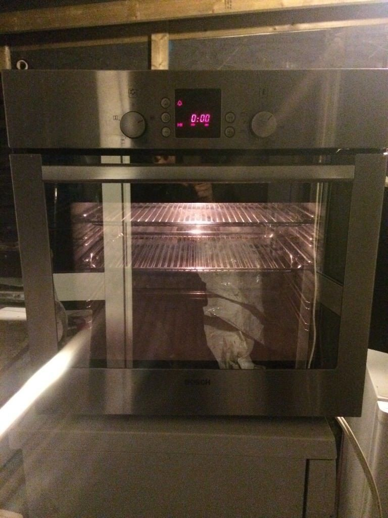 9f6758ea16   BOSCH  STAINLESS STEEL  ELECTRIC OVEN  FULLY WORKING  £120  COLLECTION DELIVERY  NO  OFFERS
