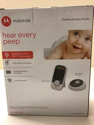 Motorola Digital Audio Baby Monitor - Hear Every Peep