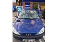 Used but well looked after 2003 Peugeot 206 - £195