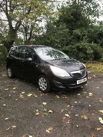 Vauxhall meriva 1.3cdti S A/C ECO flex . Low miles cheap to insure and tax and run