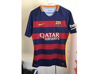 FC Barcelona Authentic 2015/2016 Home Jersey