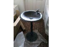 Cast Aluminium Bird Bath