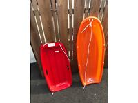 2 sledges
