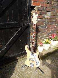 greco 4001 bass guitar c/w hard case 70s class