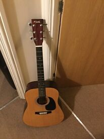 Acoustic guitar Nevada with cover