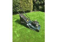Hayter lawnmower