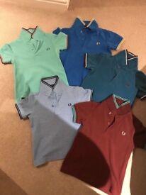 Boys Designer polo shirts x 9 size kids 2-3