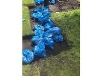 Garden topsoil,free for collection in Leith Eh6