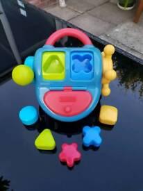 Baby Toy shape sorter - bright start
