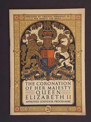 """Uinted Kingdom Book of 1953 """"The Coronation of Her Majesty Queen Elizabeth II"""""""