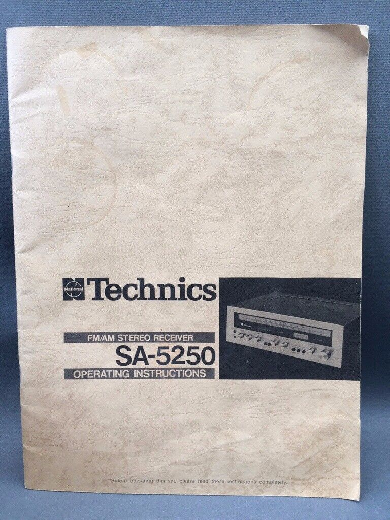 Technics SA5250 Receiver | in Hull, East Yorkshire | Gumtree