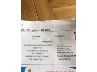 Take That Tickets - Dublin - Tuesday 16 May 2017 - 4 Tickets - Will Sell in 2's in Required