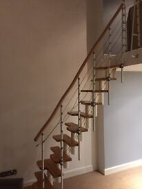 Space saving staircase