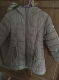 Next Girls padded winter coat