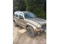 Jeep Cherokee limited 2004 mot july