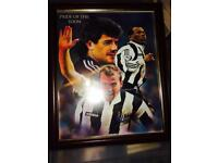 Newcastle United Framed Pictures