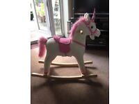Brand New Unicorn Rocking Horse