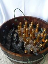 Vintage half wine barrels w/rope handles for hire Collaroy Manly Area Preview